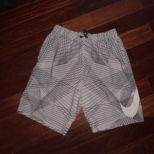 Nike Swim - Men's NIKE Gray Swimtrunks